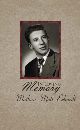 Matt Erhardt Memorial Folder