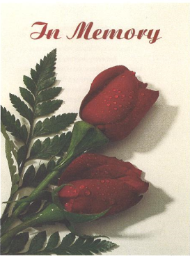 Joyce Thom Memorial Folder
