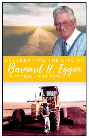 Barney Eggen Memorial Folder